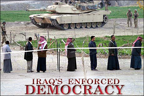 Iraq's Enforced Democracy
